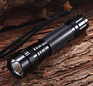 WF-501B Rechargeable 5-Mode 1xCree XM-L T6 Waterproof Bike Lights(1x18650,1200LM)Black