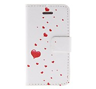 Kinston Heart Away Pattern PU Leather Full Body Case with Stand for iPhone 4/4S