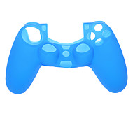 A Set Silicone Case for PS4(Includes Black,White,Pink,Red,Blue Color)