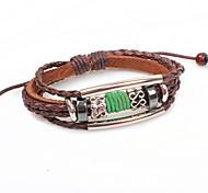 2015 Fashion Hand Woven Leather Bracelet