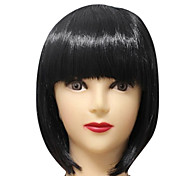 Short Straight Synthetic Wig Multiple Colors Available
