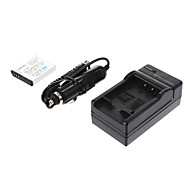ismartdigi-Pana S008, BCE10, VBJ10 /RicohDB-70 1150mah,3.7V Camera Battery+Car charger for PanasonicFX520 FX30 FX55