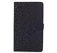 Diamond Look Pattern PU Leather and Hard Back Cover Pouch for Samsung Tab PRO 8.4 T320(Assorted Colors