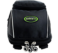 FJQXZ 600D Polyester Multifunctional Black Front Bag