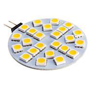 Spot Lampen G4 3 W 210 LM 2800-3500 K 24 SMD 5050 Warmes Weiß/Kühles Weiß DC 12 V