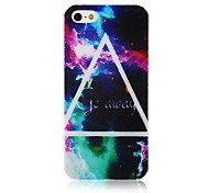 Triangle Pattern Silicone Soft Case for iPhone4/4S