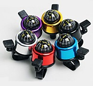 Small Aluminum Alloy Bicycle Compass Bell Ring(Random Color)