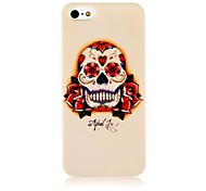 Flower Skeleton Case de silicona suave para iPhone4/4S