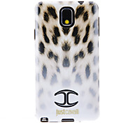 For Samsung Galaxy Note Pattern Case Back Cover Case Leopard Print TPU Samsung Note 3
