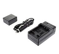 ismartdigi-Pana BLB13E 1300mAh, cargador de batería de la cámara 7.2V + coche de Panasonic DMC-G1/GH1/GF1/G10/G2