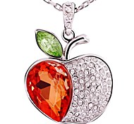 Apple Pendant  Necklance