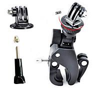 Accessori GoPro Montaggio / Treppiedi Per Gopro 3/2/1 PVC nero