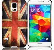 Retro UK Flag Hard Cover Case for Samsung Galaxy S5 I9600