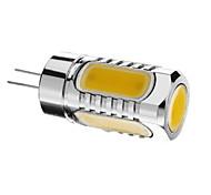 G4 7 W 5pcs Integrate LED 600lm LM Warm White Decorative Spot Lights DC 12 V