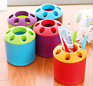 Lovely Colorful Fashion Brush Holder(Random Color)