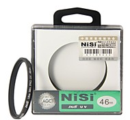 NISI 46mm PRO UV Ultra Violet professional lens Filter Protector for Nikon Canon Sony Pentax Olympus Cameras