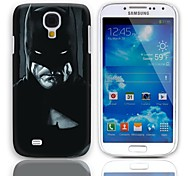 Man Pattern Hard Case with 3-Pack Screen Protectors for Samsung Galaxy S4 mini I9190