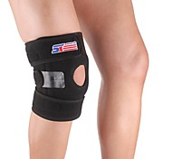 Adjustable Silicon 4-spring Knee Guard Protector - Free Size
