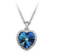 The Heart Of Ocean 18k Gold Plated Women Pendants Necklace