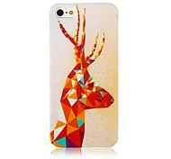 Fawn Pattern Silicone Soft Case for iPhone5/5s