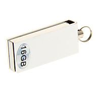 16G Mini Material Metal USB giratorio Flash Drive (colores surtidos)
