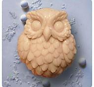 Owl forme Cuire Mold, W6.7cm x L5.9cm x H3cm