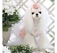 pet bestickten Tuch Spitzen Nähen niedlich Blase Rock für Haustiere Hunde (verschiedene Farben, Größen)