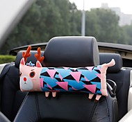 Novelty Cartoon Elk Style Car Auto Seat Headrest Head Neck Pillow