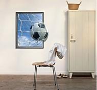 Decalques de parede 3d copa do mundo de futebol de parede gol maravilhoso adesivos