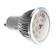 Spot LED Blanc Chaud GU10 6W SMD 5730 470-520 LM AC 100-240 V