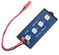 3,7 V Ladeplatine für JST-XH/T-Plug Lipo Akku RC