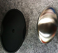 Stainless Steel Soap with Black Plastic Dish