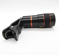 Universal 8X Telephoto Lens with Clip for Cellphones