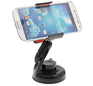 Universale In-Car Mount Winshield cellulare nero Clipping Holder