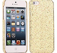 Bling Sequins Hard Cover Case for iPhone 55S