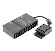 Atacado New 4 Player Multitap ou PlayStation para PS2