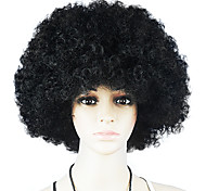 Black Afro Wig Fans Bulkness Cosplay Christmas Halloween Wig Black Wig 1pc/lot