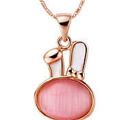 Fashion Rabbit-Shape Alloy Women's Necklace(1 Pc)