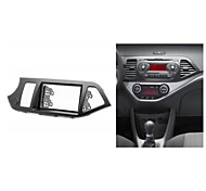 Radio Fascia dashboardafwerking Trim installatie Kit voor KIA Picanto TA Morning TA 2011 2012 2013 Links wiel