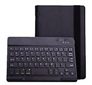 Bluetooth V3.0 59-Tasten-Tastatur mit PU-Leder-Kasten-Standplatz für Lenovo Yoga 8 B6000