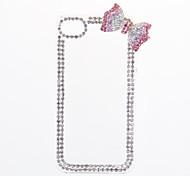 Elegante Crystal Oberfläche bowknot Design-Tasche für iPhone 4/4S