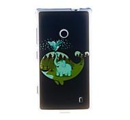 Kinston Perfect Combination Pattern TPU Soft Case for Nokia Lumia 520