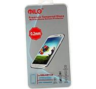 MILO Terceira Geração Ultra Fina 0,2 milímetros de alta qualidade premium de vidro temperado protetor de tela para Samsung Galaxy S4/I9500