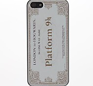 Platform Design PC Hard Case for iPhone 5/5S