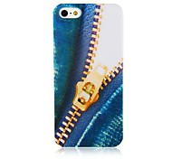 Zipper Pattern Case de silicona suave para iPhone4/4S
