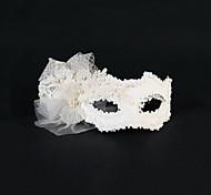 Capacete Máscaras Casamento/Ocasião Especial Pérola/Tule Mulheres Casamento/Ocasião Especial