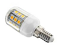 E14/E26/E27 3 W 27 SMD 5050 350 LM Warm White Dimmable Corn Bulbs AC 110-130 V