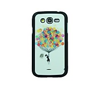 For Samsung Galaxy Case Pattern Case Back Cover Case Balloon PC Samsung Grand