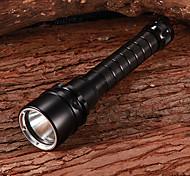 Cree XM-L T6 Dimming Blanca Diving Flashlight (2x18650, 600LM)