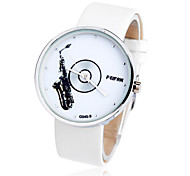 WOMEN'S Water-Resistant  Dial leather Band Quartz Wrist Watch